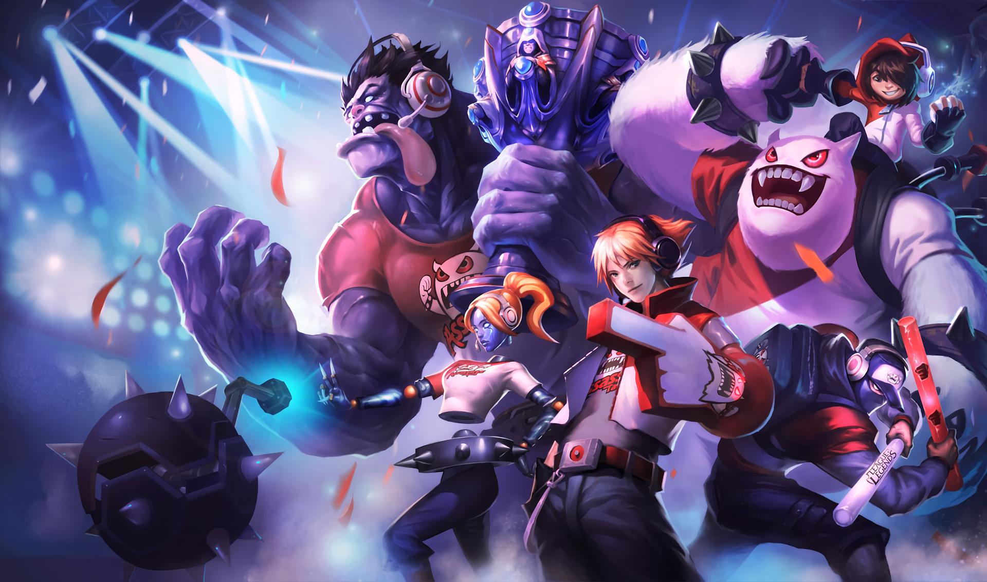 background League of Legends