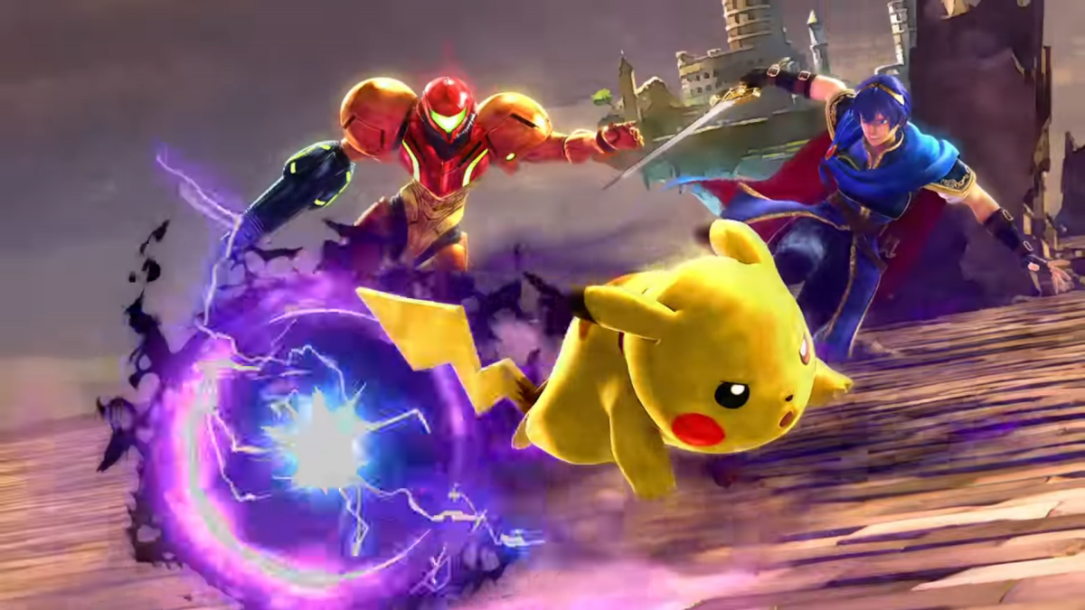 background Super Smash Bros DUO