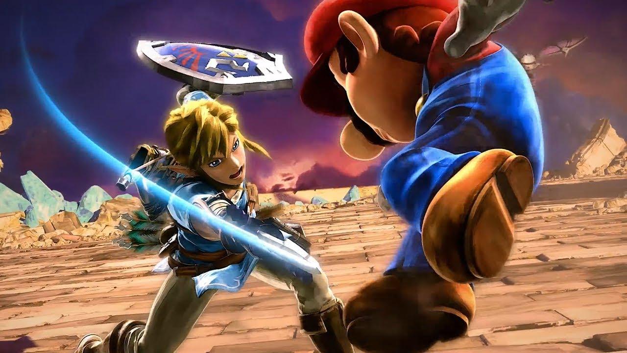 background Super Smash Bros SOLO